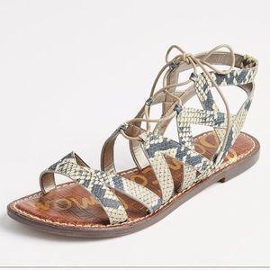 Sam Edelman Gemma Gladiator Sandals in Snake